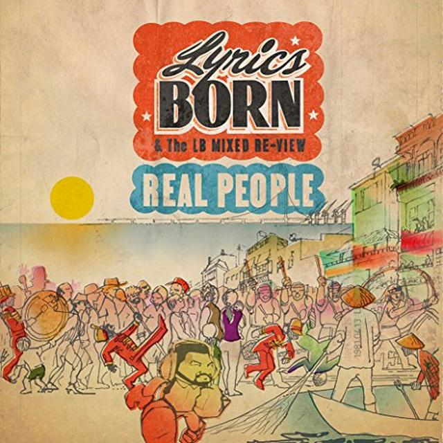 Lyrics Born REAL PEOPLE Vinyl Record