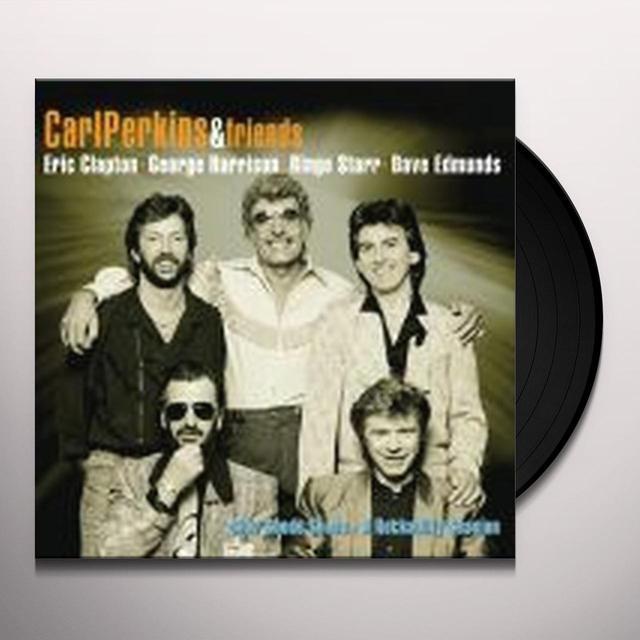 Carl Perkins BLUE SUEDE SHOES Vinyl Record
