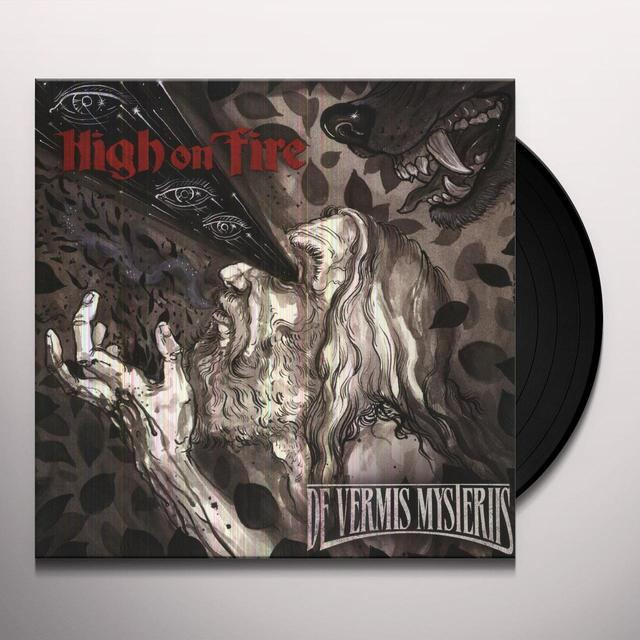 High On Fire DE VERMIS MYSTERIIS Vinyl Record - Holland Import