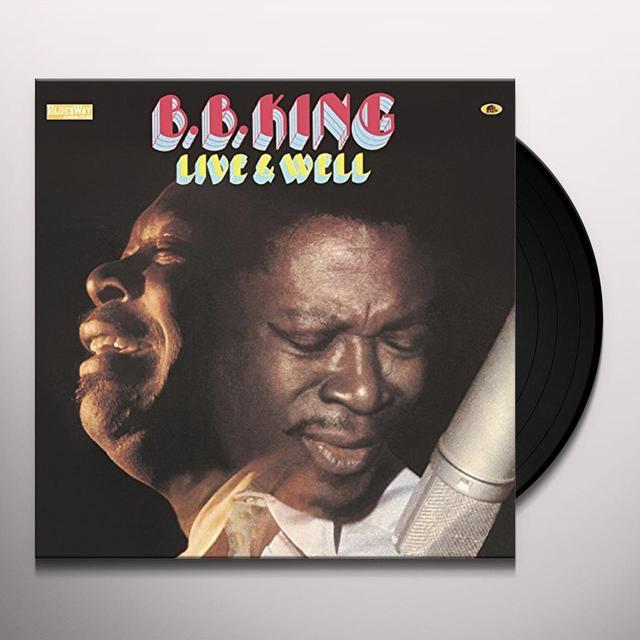B.B. King LIVE & WELL (GER) Vinyl Record
