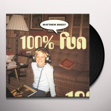 Matthew Sweet 100 PERCENT FUN Vinyl Record - Holland Import