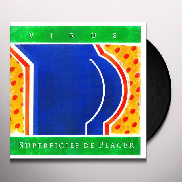 Virus SUPERFICIES DE PLACER Vinyl Record
