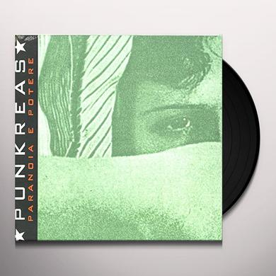 PUNKREAS PARANOIA E POTERE Vinyl Record - Italy Release