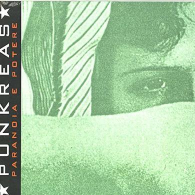 PUNKREAS PARANOIA E POTERE Vinyl Record - Italy Import