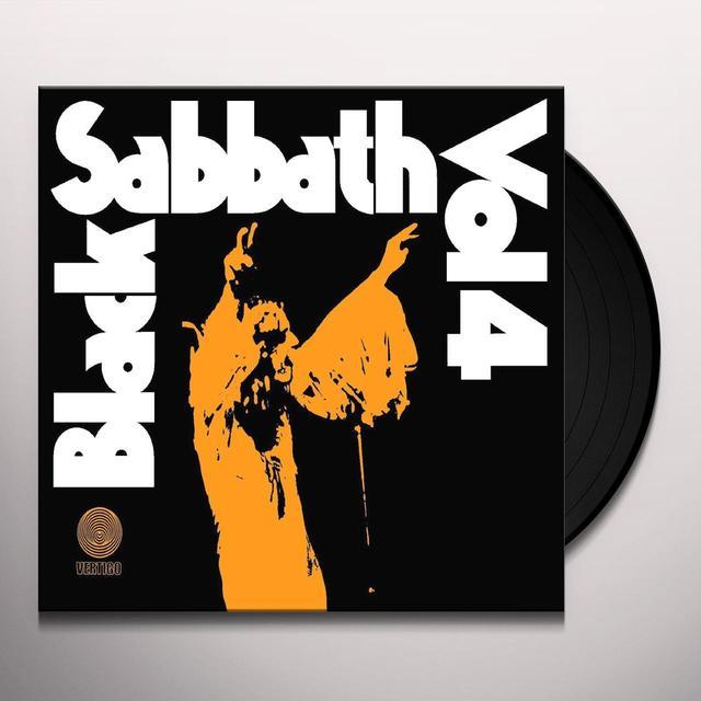 Black Sabbath VOL 4 Vinyl Record - UK Import