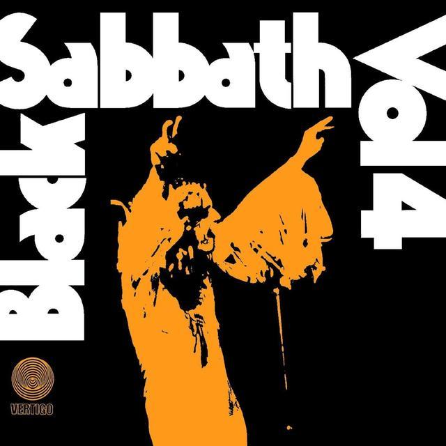 Black Sabbath VOL 4 Vinyl Record