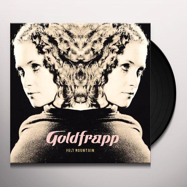 Goldfrapp FELT MOUNTAIN Vinyl Record - UK Import