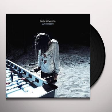 SNOW IN MEXICO JUNO BEACH Vinyl Record - Black Vinyl, Limited Edition, Digital Download Included