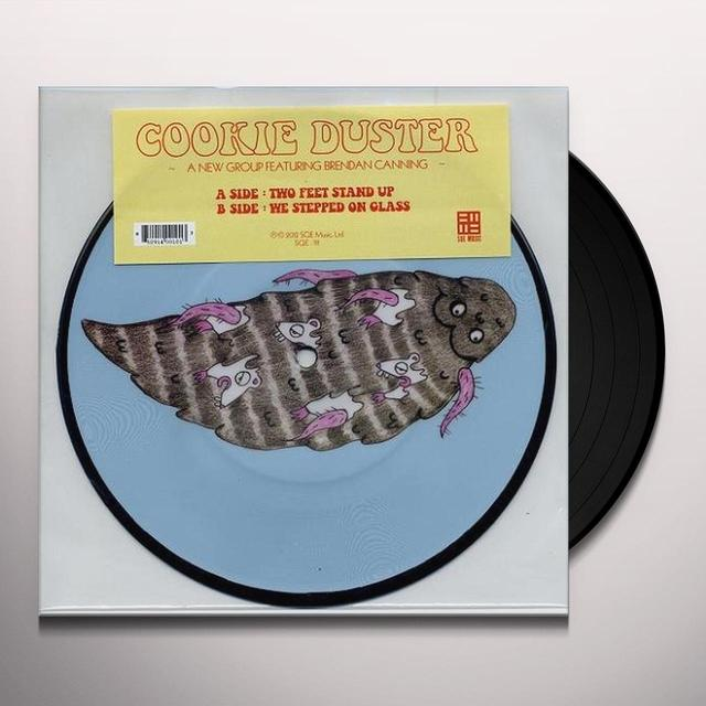 Cookie Duster TWO FEET STAND UP Vinyl Record - Picture Disc