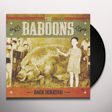 Baboons BACK SCRATCH Vinyl Record