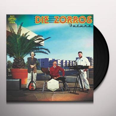 DIE ZORROS FUTURE Vinyl Record - w/CD