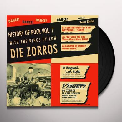 DIE ZORROS HISTORY OF ROCK 7 Vinyl Record