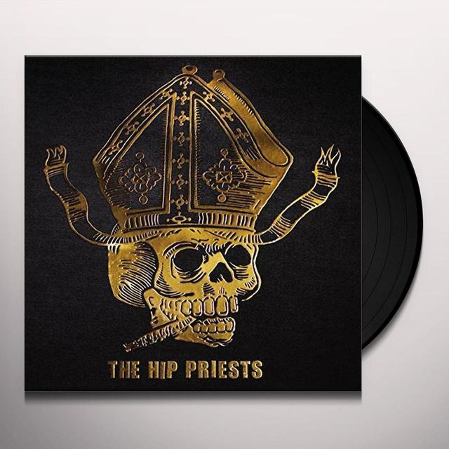 HIP PRIESTS BLACK DENIM BLITZ Vinyl Record