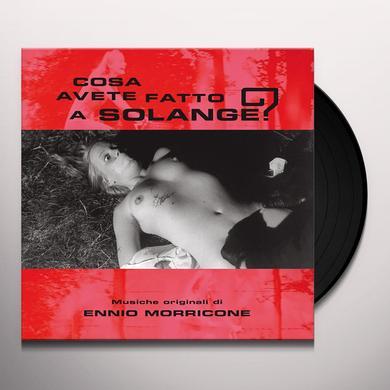 Ennio Morricone COSA AVETE FATTO A SOLANGE Vinyl Record