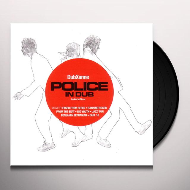 DubXanne POLICE IN DUB Vinyl Record
