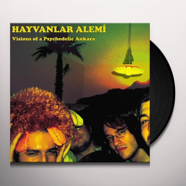 Hayvanlar Alemi VISIONS OF A PSYCHEDELIC ANKARA Vinyl Record