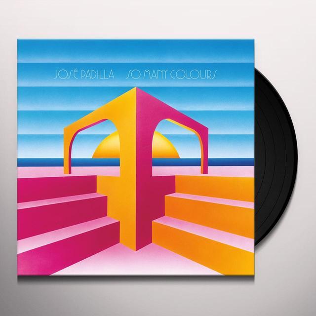Jose Padilla SO MANY COLOURS Vinyl Record - w/CD