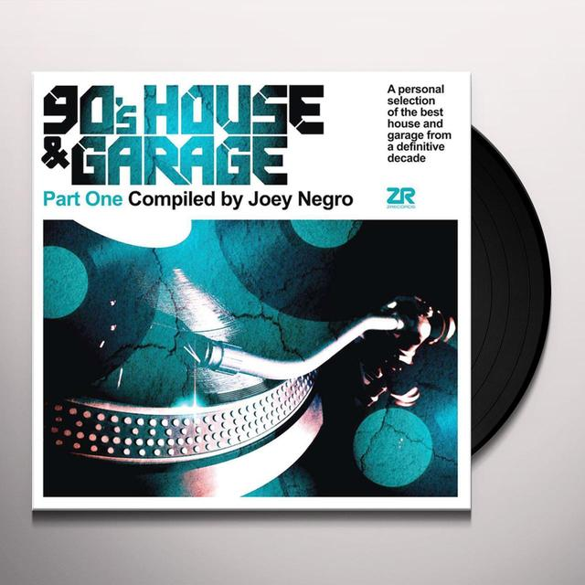 Joey Negro 90'S HOUSE & GARAGE PART ONE Vinyl Record
