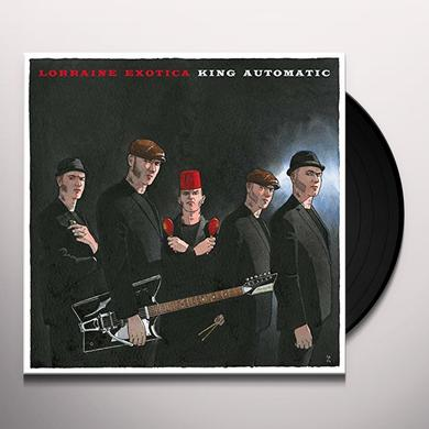 KING AUTOMATIC LORRAINE EXOTICA Vinyl Record - w/CD