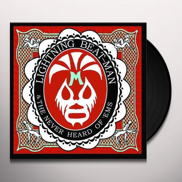 LIGHTNING BEAT-MAN & THE NEVER HEARD OF 'EMS APARTMENT WRESTLING ROCK'N'ROLL Vinyl Record