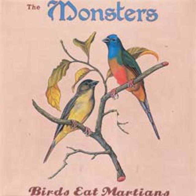 Monsters BIRDS EAT MARTIANS Vinyl Record