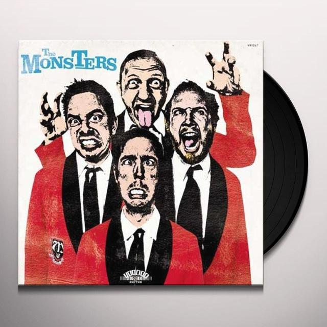 Monsters POP UP YOURS Vinyl Record