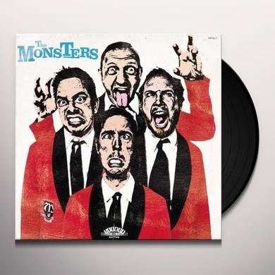 Monsters POP UP YOURS Vinyl Record - w/CD