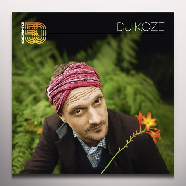 DJ KOZE - DJ-KICKS Vinyl Record - w/CD, Colored Vinyl, Gatefold Sleeve, White Vinyl