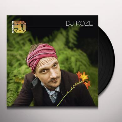 DJ KOZE - DJ-KICKS Vinyl Record - w/CD, Colored Vinyl, Gatefold Sleeve, White Vinyl