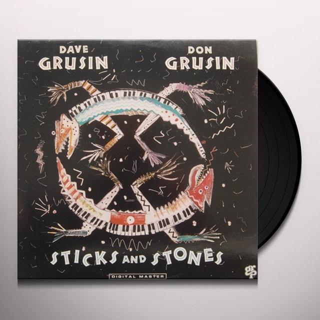 Dave Grusin & Don Grusin STICKS & STONES Vinyl Record