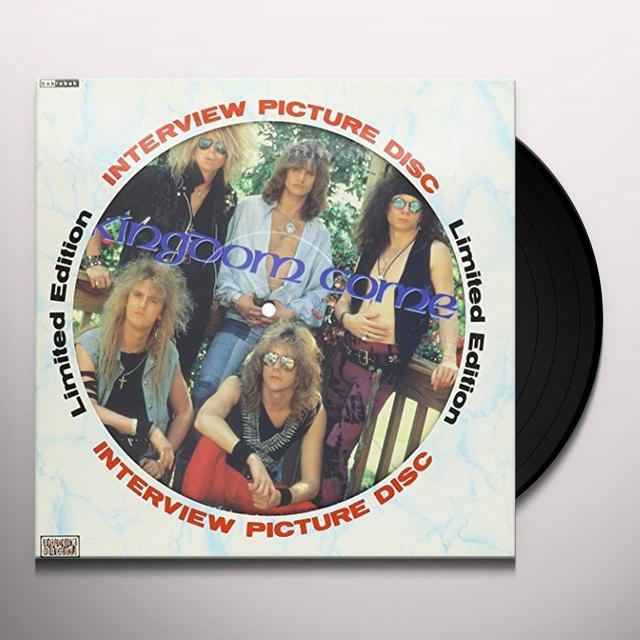 Kingdom Come 80'S INTERVIEW PICTURE DISC Vinyl Record