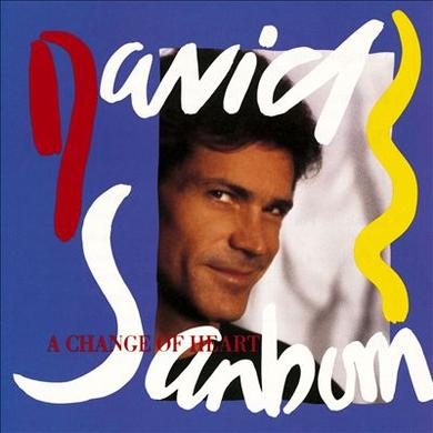 David Sanborn CHANGE OF HEART Vinyl Record