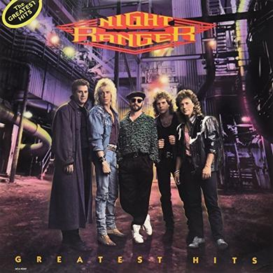 Night Ranger GREATEST HITS Vinyl Record