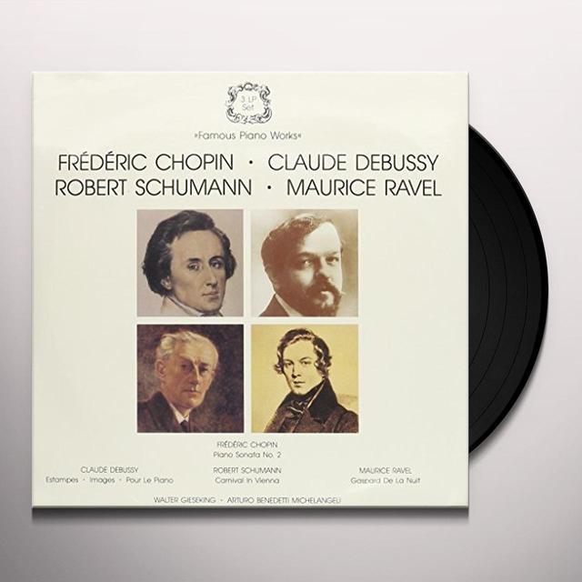 Chopin FAMOUS PIANO WORKS Vinyl Record
