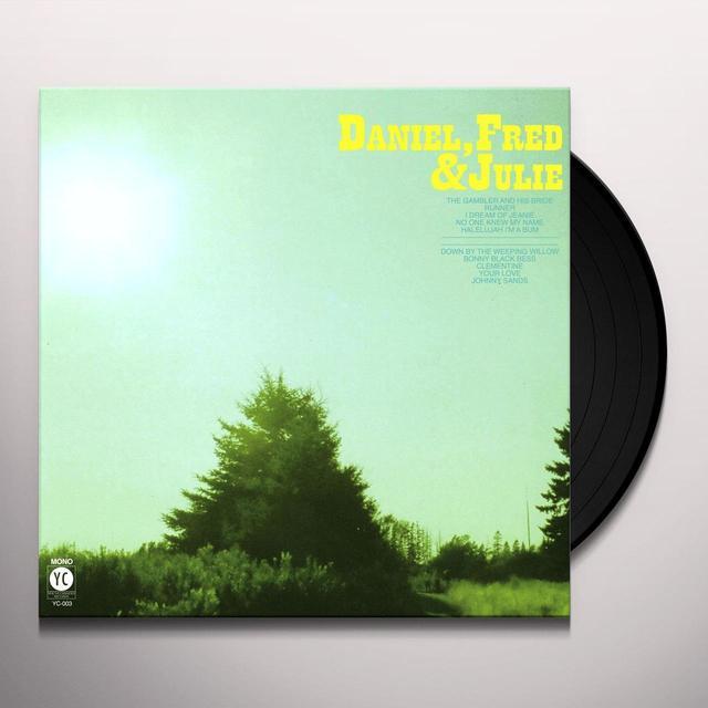 DANIEL / FRED / JULIE DANIEL FRED & JULIE Vinyl Record - Digital Download Included