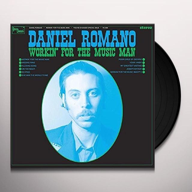 Daniel Romano WORKIN FOR THE MUSIC MAN Vinyl Record - 180 Gram Pressing, Digital Download Included