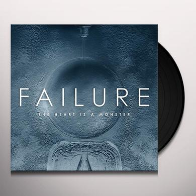 Failure HEART IS A MONSTER Vinyl Record - Gatefold Sleeve