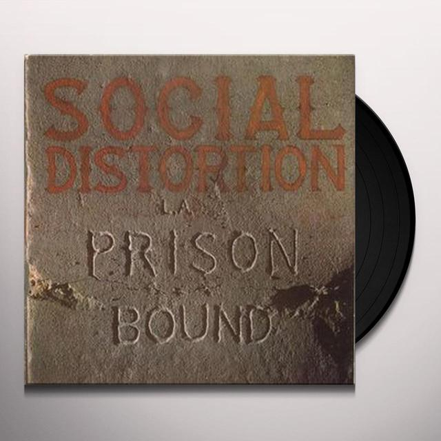 Social Distortion PRISON BOUND Vinyl Record