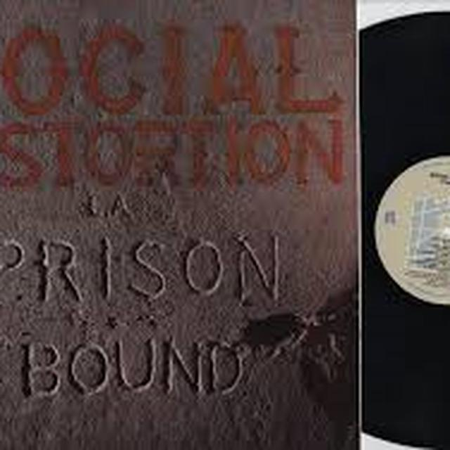 Social Distortion PRISON BOUND Vinyl Record - Deluxe Edition