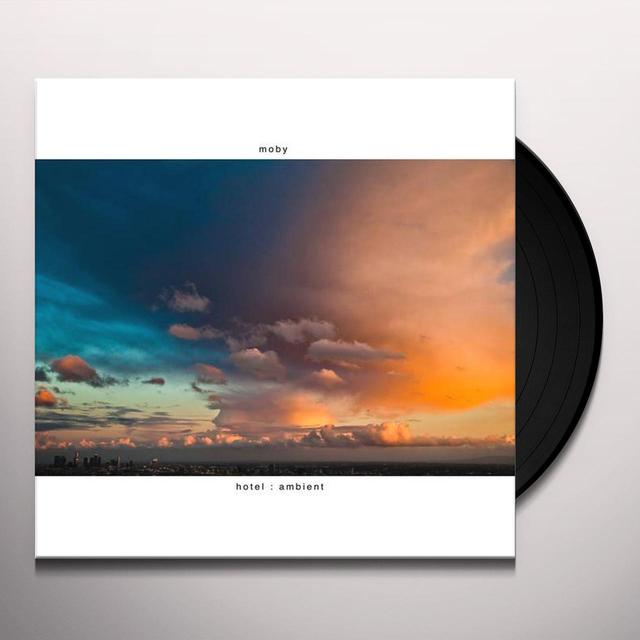 Moby HOTEL AMBIENT Vinyl Record - Gatefold Sleeve