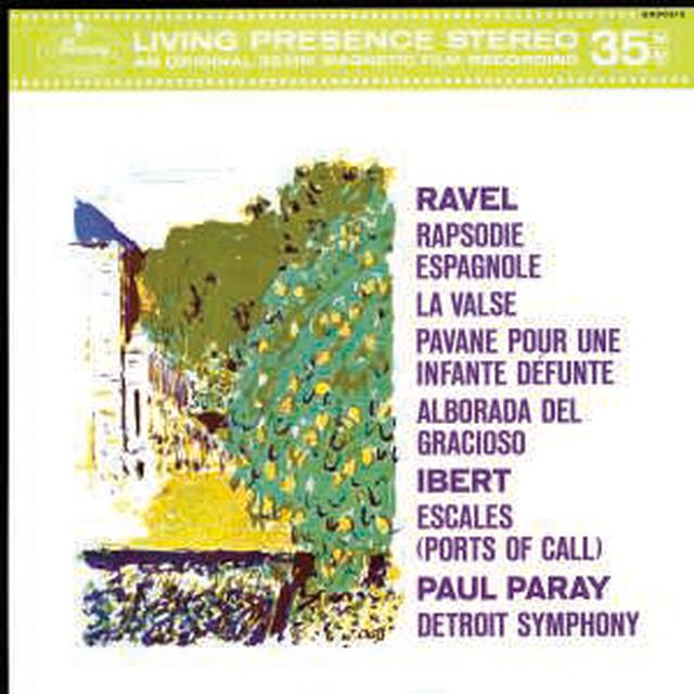 PARAY / DETROIT SYMPHONY ORCHESTRA ORCHESTRAL MUSIC BY MAURICE RAVEL & JACQUES IBERT Vinyl Record
