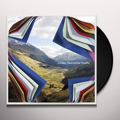 Linden REST & BE THANKFUL Vinyl Record