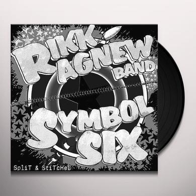 Rikk Agnew / Symbol Six SPLIT & STITCHED Vinyl Record