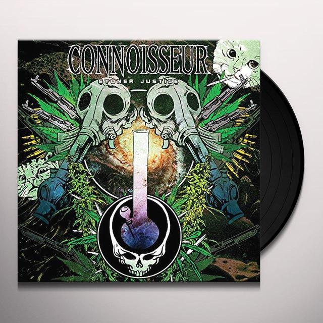 CONNOISSEUR STONER JUSTICE Vinyl Record