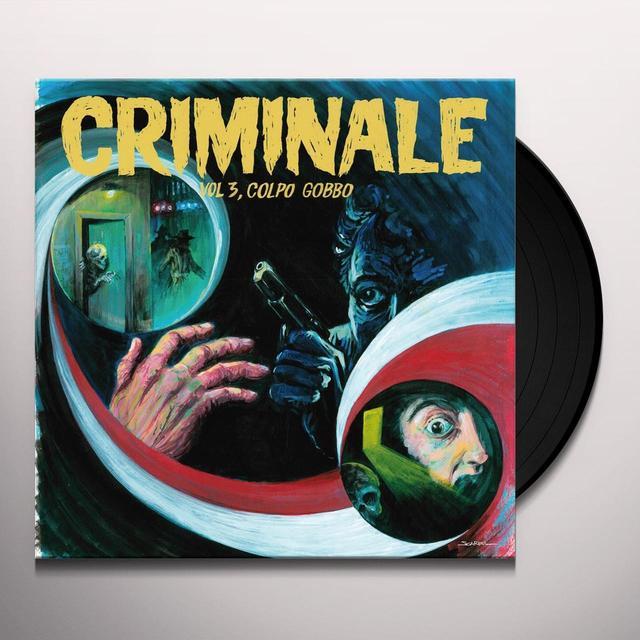 CRIMINALE VOL. 3 - COLPO GOBBO / VARIOUS Vinyl Record - w/CD
