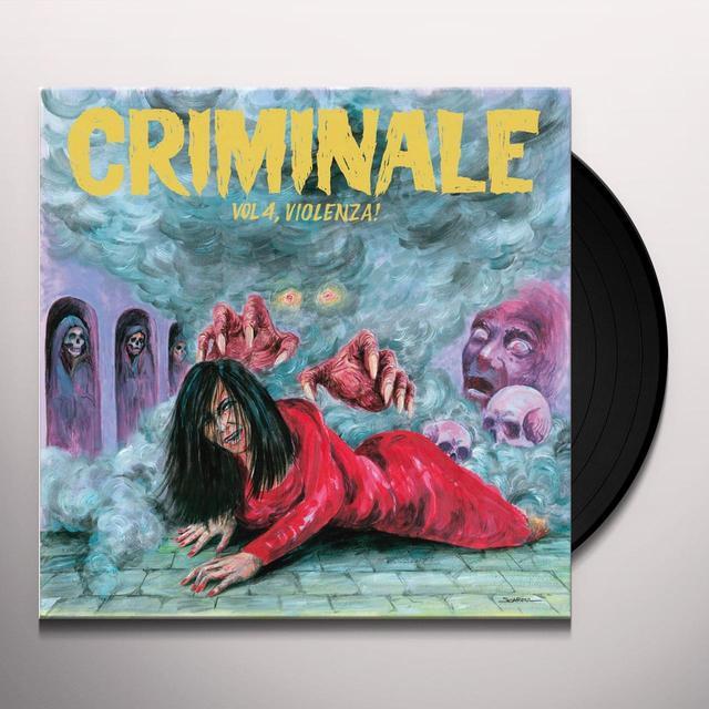 CRIMINALE VOL. 4 - VIOLENZ / VARIOUS Vinyl Record - w/CD