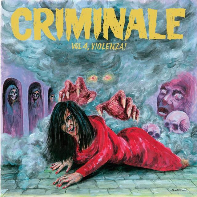 CRIMINALE VOL. 4 - VIOLENZ / VARIOUS Vinyl Record - w/CD