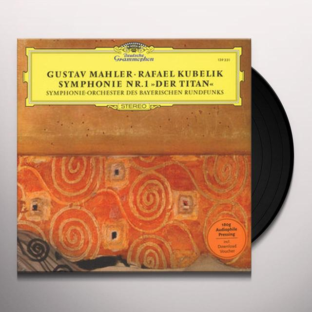 MAHLER / KUBELIK / SYMPHONIEORCHESTER DES SYNPHONY NO 1 THE TITAN Vinyl Record - Limited Edition