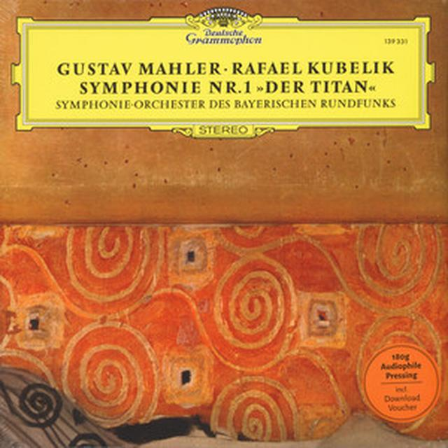 MAHLER / KUBELIK / SYMPHONIEORCHESTER DES SYNPHONY NO 1 THE TITAN Vinyl Record