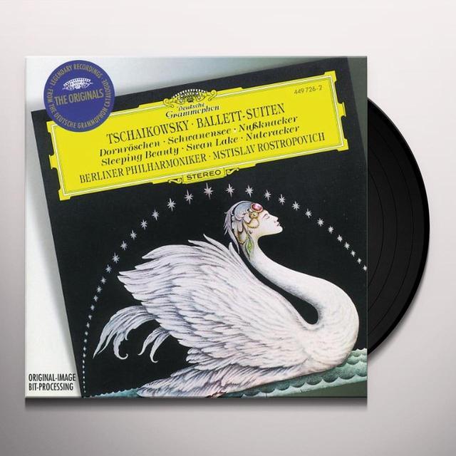 TCHAIKOVSKY / ROSTROPOVICH / BERLINER PHILHARMONIK BALLET SUITES 1 / THE NUTCRACKER Vinyl Record - Limited Edition